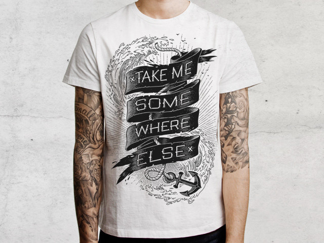 Take me somewhere else