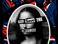God Save The Artists T-Shirt Design by