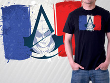 Le French Assassin... T-Shirt Design by