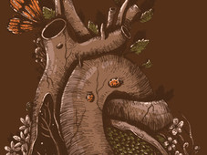 In the heart of the woods T-Shirt Design by