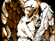 Angel of Radiance T-Shirt Design by