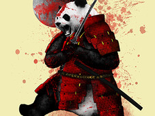 Don't mess with the panda! T-Shirt Design by