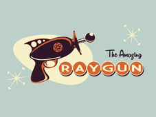 Amazing Ray Gun T-Shirt Design by