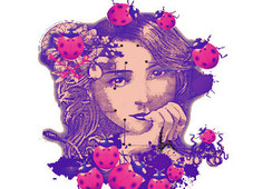 Lady Bug T-Shirt Design by
