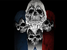 Skulls Unity Flag T-Shirt Design by