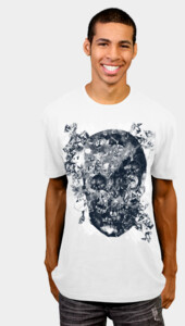 skull crystallisation T-Shirt