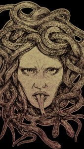 Kiss of the Gorgon T-Shirt