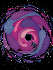 Black Hole Surfer T-Shirt