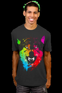 The Neon Wolves T-Shirt