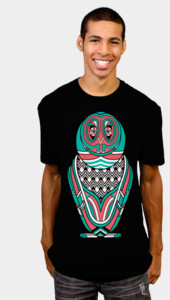 Art Deco Owl III T-Shirt