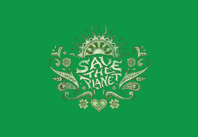 Save the Planet  Artwork