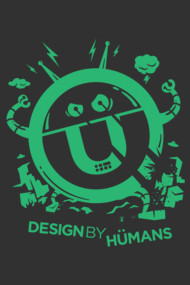 DBH Artist Series Robot Logo - Green Edition