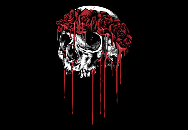 Skull and Roses  Artwork