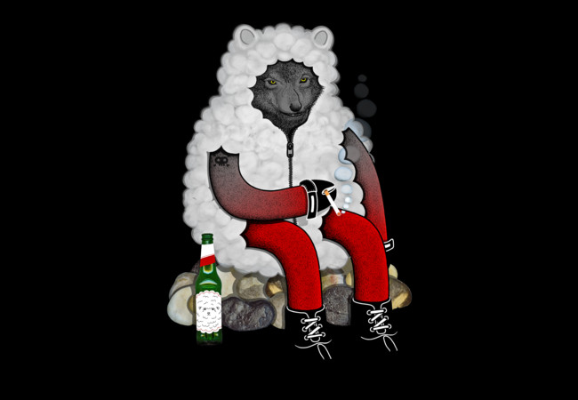 wolf in sheep's clothing  Artwork