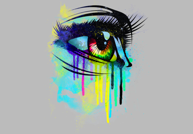 Tears of Colors  Artwork