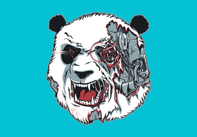 Cyborg Panda  Artwork
