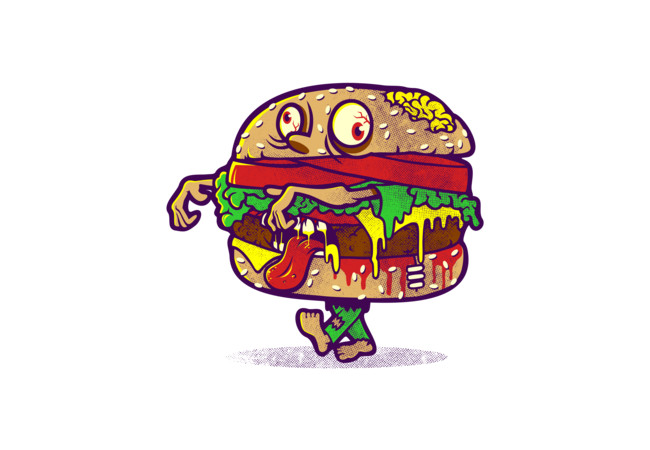 ZOMBURGER  Artwork