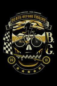 DEATH BEFORE ENGINE!