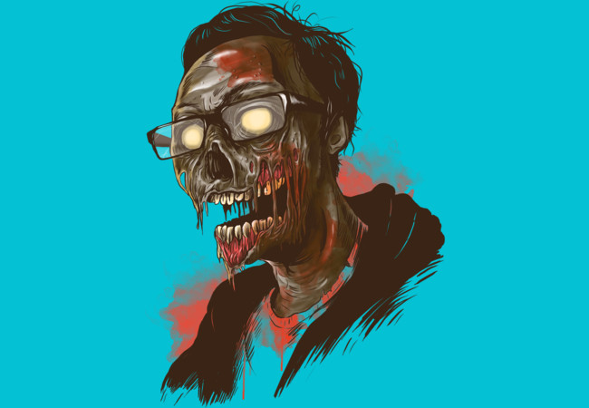 I was zombie before it cool!!!  Artwork