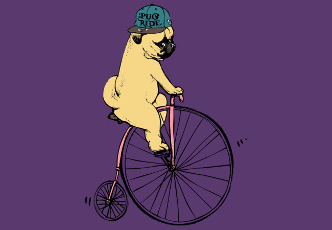 Pug Ride  Artwork