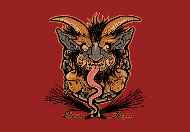 Greetings From Krampus  Artwork