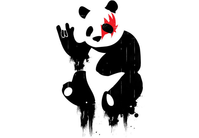 Hard Rock Panda  Artwork