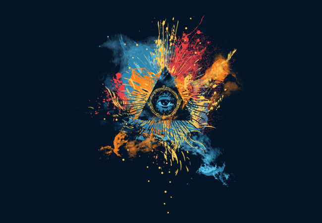 The All seeing eye  Artwork