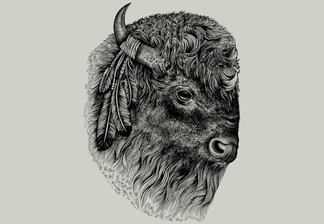Buffalo Head  Artwork