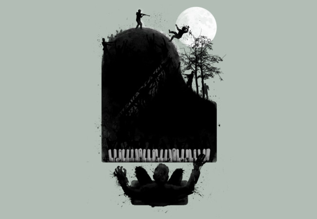 the zombie pianist ; moonlight zonataa..