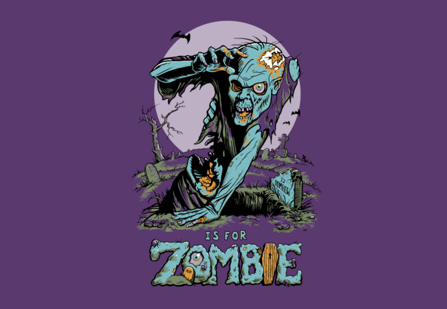 Z is for Zombie  Artwork