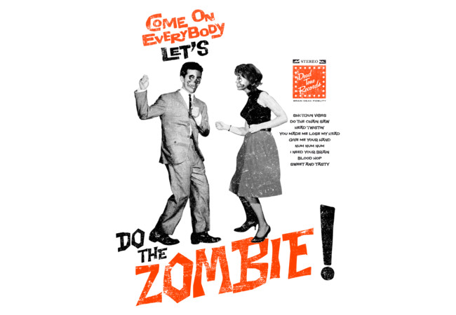Do The Zombie!  Artwork