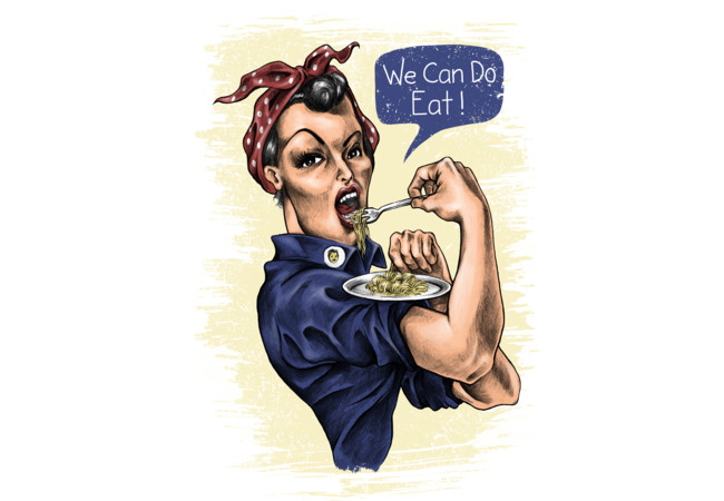 we can do eat!!  Artwork