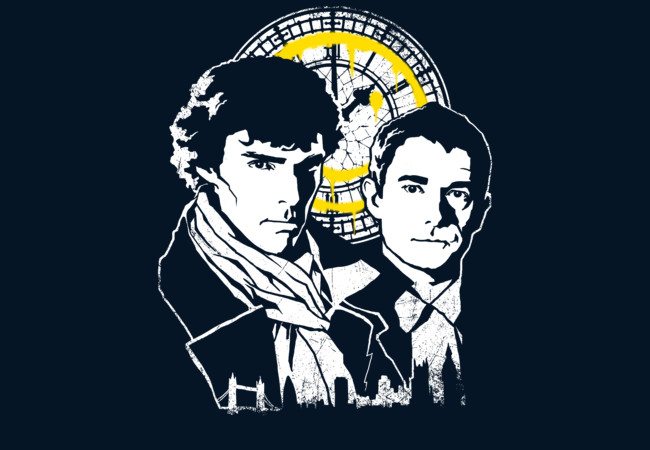 John and Sherlock  Artwork