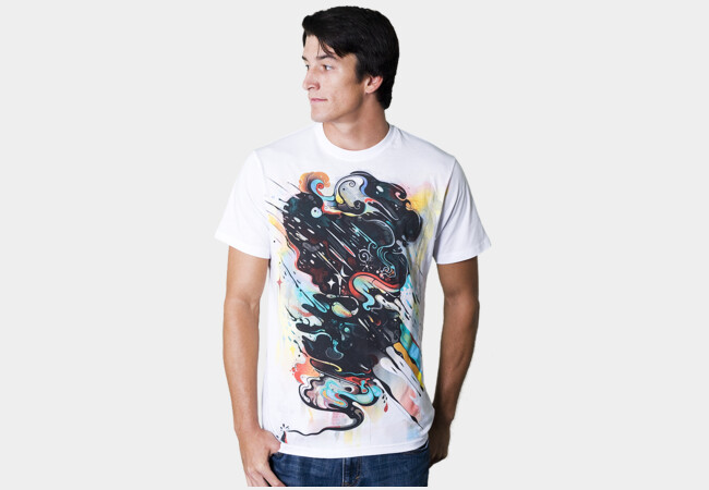 dark side of the firework T-Shirt - Design By Humans