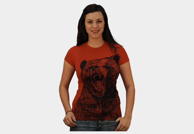 Limited Edition - Bear Hug T-Shirt - Design By Humans