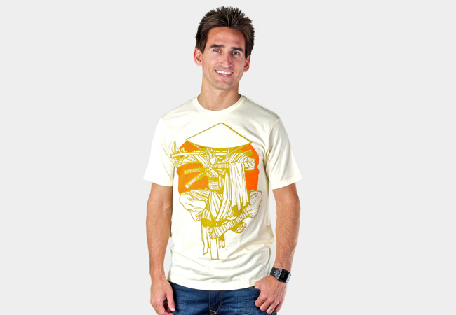 Gold T-Shirt - Design By Humans
