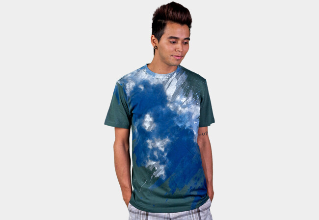 Painting the Sky - V2 T-Shirt - Design By Humans