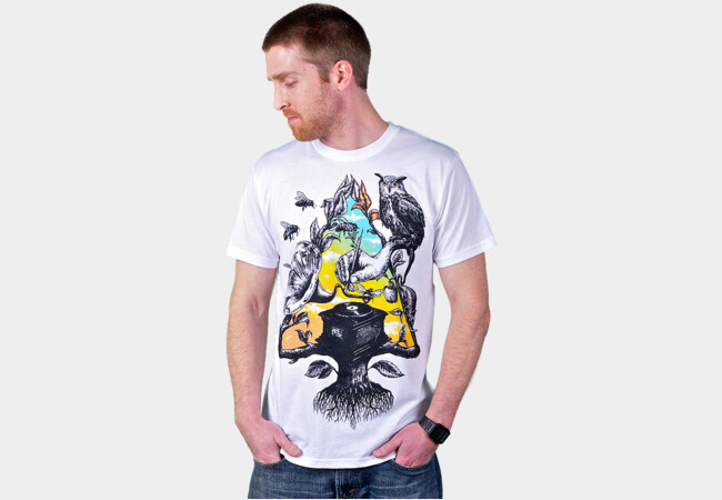 Tree-dimensional sound T-Shirt - Design By Humans