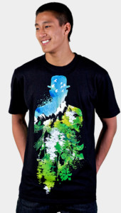 Garden of Verses - Mens T-Shirt