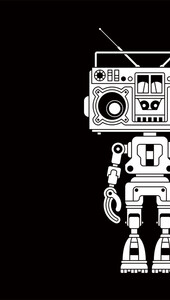 Limited Edition - Boombox Boy Bot T-Shirt