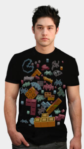 OVERDOSE OF PIXELS T-Shirt