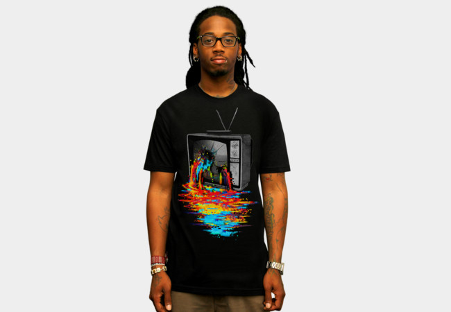 Pixel Overload T-Shirt - Design By Humans