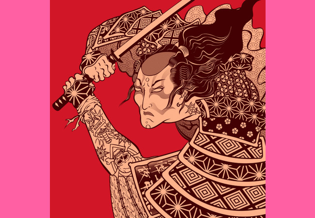 Limited Edition - Samurai Punk  Artwork
