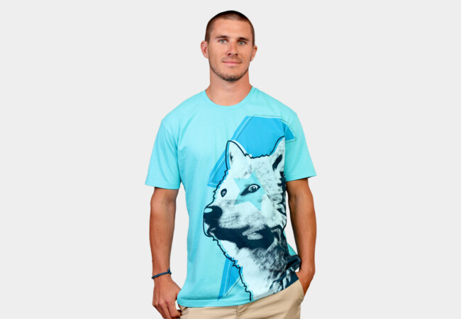 Limited Edition - Star Wolf T-Shirt - Design By Humans
