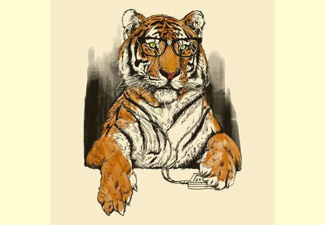 Smart Tiger  Artwork