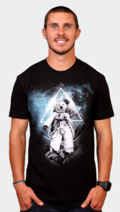Polar Bears in Space T-Shirt