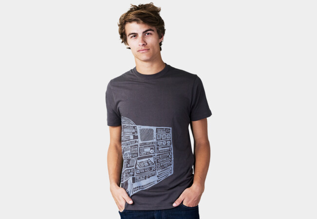The Control Room T-Shirt - Design By Humans