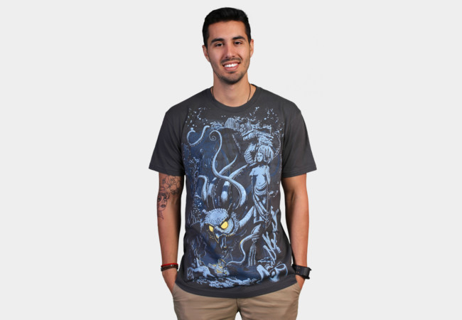 Defender of the Deep T-Shirt - Design By Humans