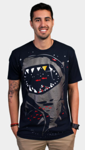 Limited Edition - Shark with Pixelated Teeth T-Shirt