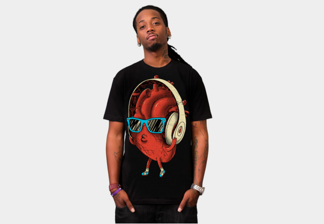 HeartBEAT T-Shirt - Design By Humans